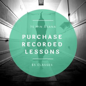 Live Yoga Class Recordings